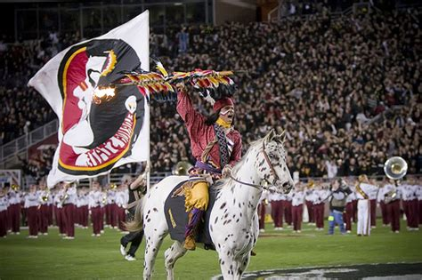 Mascot Monday: Chief Osceola and Renegade   KC College Gameday