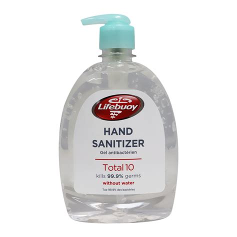 Buy Lifebuoy Total 10 Hand Sanitizer 495 mL from Aster