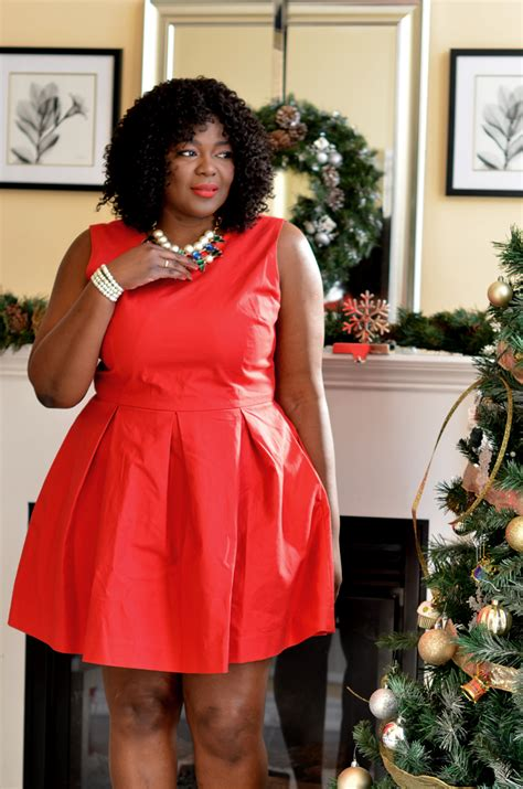 The perfect Fit and Flare Dress to Wear this Christmas and