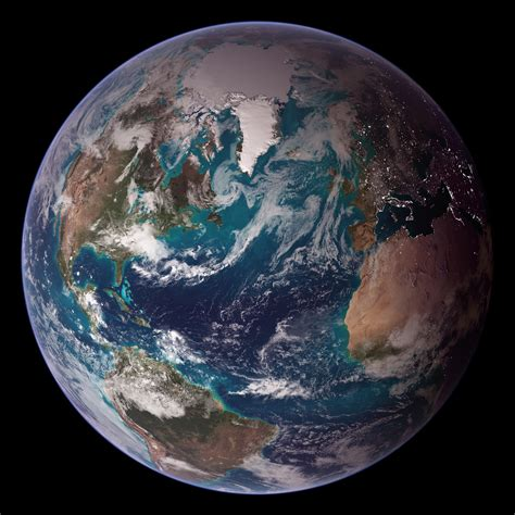 NASA Blue Marble 2007 West | RELEASE DATE: OCTOBER 9, 2007
