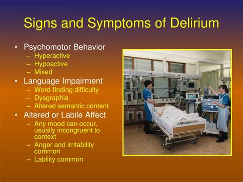 PPT - Delirium Assessment and Management PowerPoint