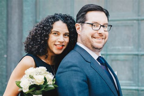 Intimate New York City Hall Wedding with Family   Brooklyn