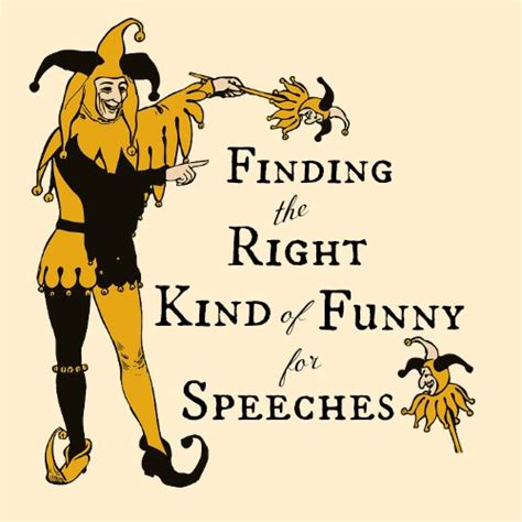 Great funny speeches: how to get the laughter you want