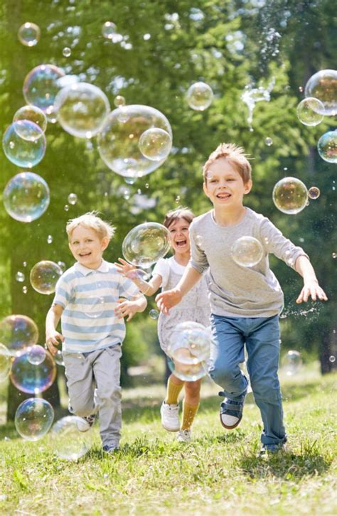 bubblemania | bubbles | spring | playing | kids | outside