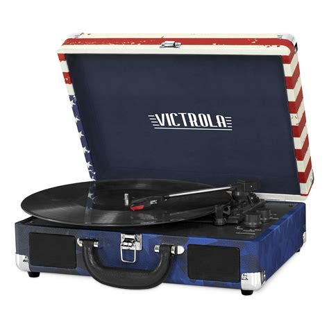 Victrola VSC-550BT-USA Bluetooth Suitcase Record Player