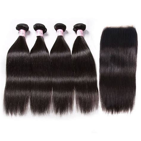 Beautyforever Free Part 5x5 HD Lace Closure Piece With 4