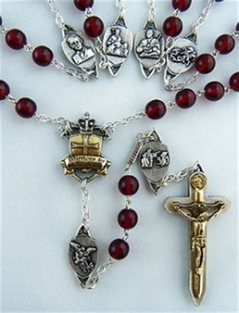 Called To Knighthood Rosary - Ghirelli Custom Rosaries
