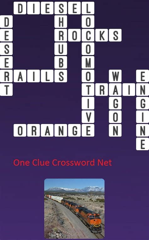 Locomotive Train - Get Answers for One Clue Crossword Now