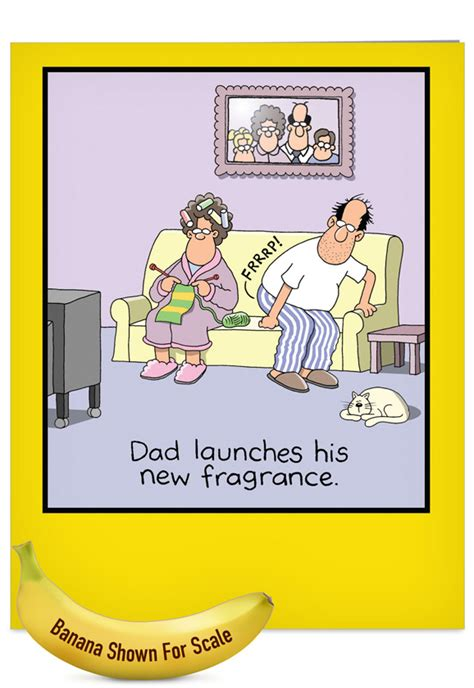 Dad's Fragrance Father's Day Card