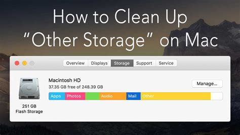 How to Delete Other Storage on Mac | MacDeed