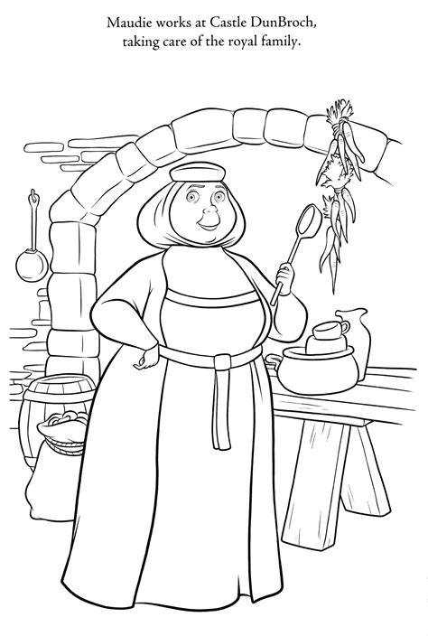 Brave Coloring Pages - Best Coloring Pages For Kids
