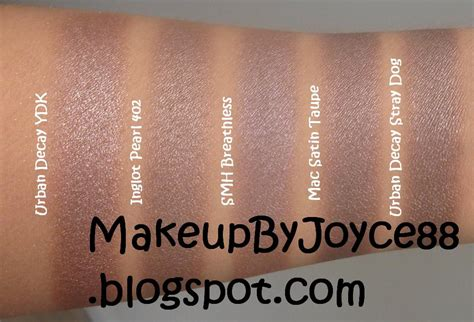 MakeupByJoyce ** !: Eyeshadow Swatches & Comparisons