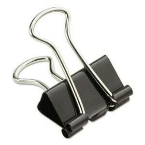 Office Products Business Source Small/Medium Binder Clips