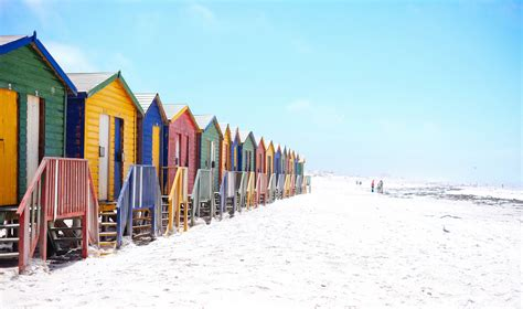 Houses on the Beach in Cape Town South Africa image - Free