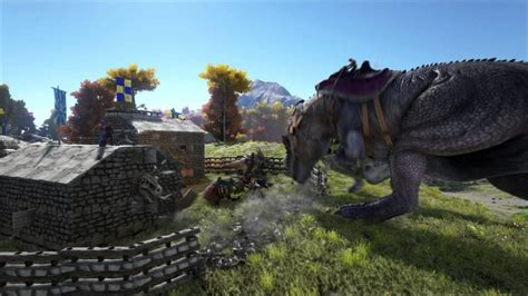 ARK: Survival Evolved adds the Gigantosaurus as patch v222