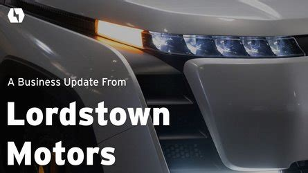 Lordstown Motors Endurance Electric Truck Catches Fire