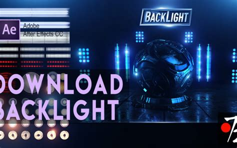 After Effects BackLight Element3D Free Download   Studio72