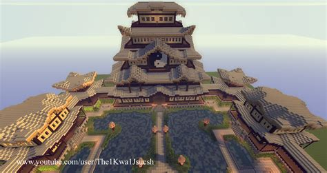 Free Japanese Pagoda Spawn For Your Server! [Download